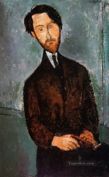 portrait of leopold zborowski Amedeo Modigliani Oil Paintings